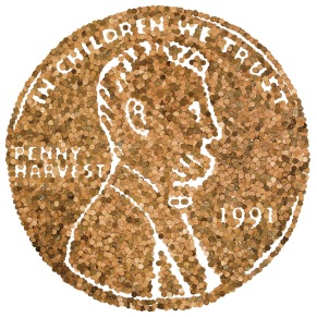 Penny Sculpture