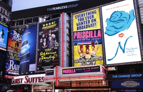 Times Square Signage